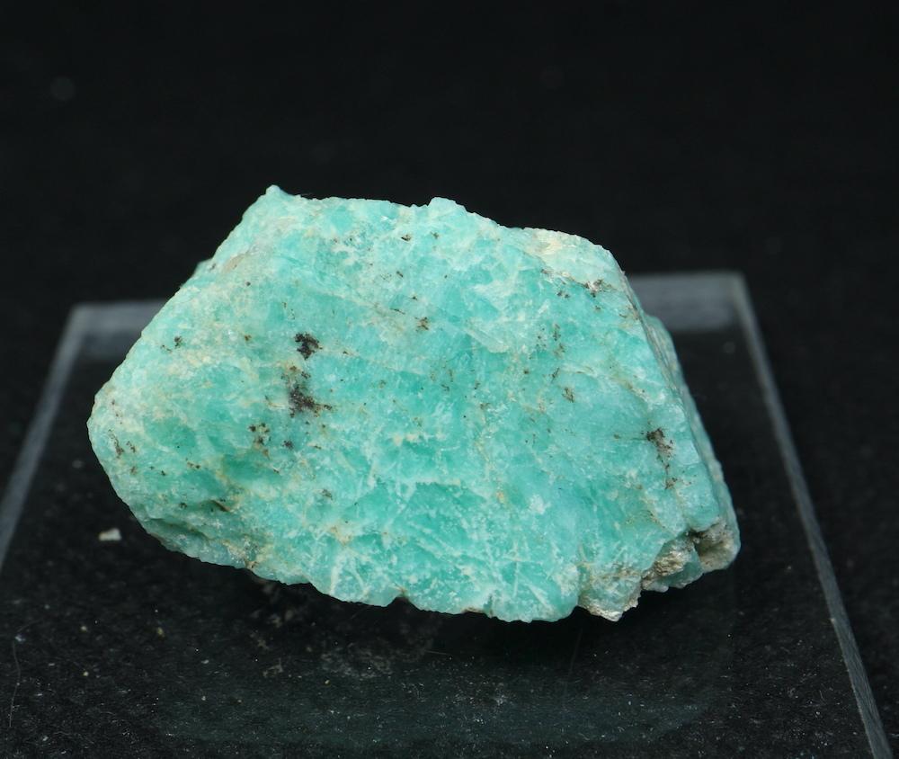 自主採掘!アマゾナイト カリフォルニア産 原石  13,3g AZ0039 天河石(てんがせき) 鉱物 天然石