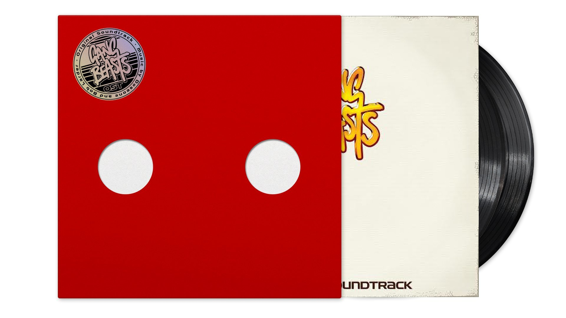Gang Beasts/ギャングビースト サウンドトラック アナログ・レコードセット  - 画像2