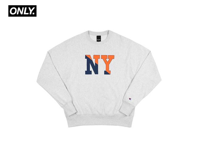 ONLY NY|NY Crew Champion® Reverse Weave Crewneck