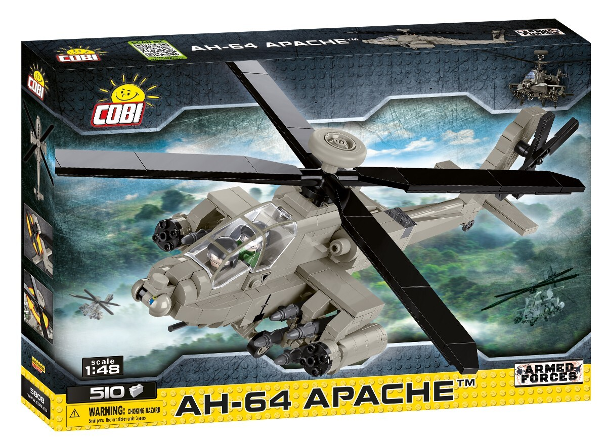 COBI #5808 AH-64 アパッチ (Apache) 1/48 scale