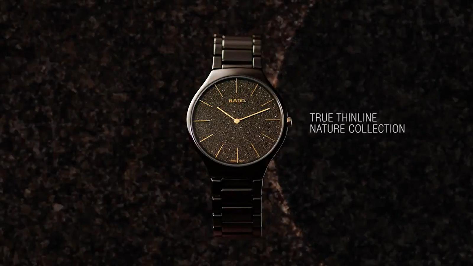 【RADO ラドー】True Thinline Earth トゥルーシンライン(アースブラウン)/正規輸入品