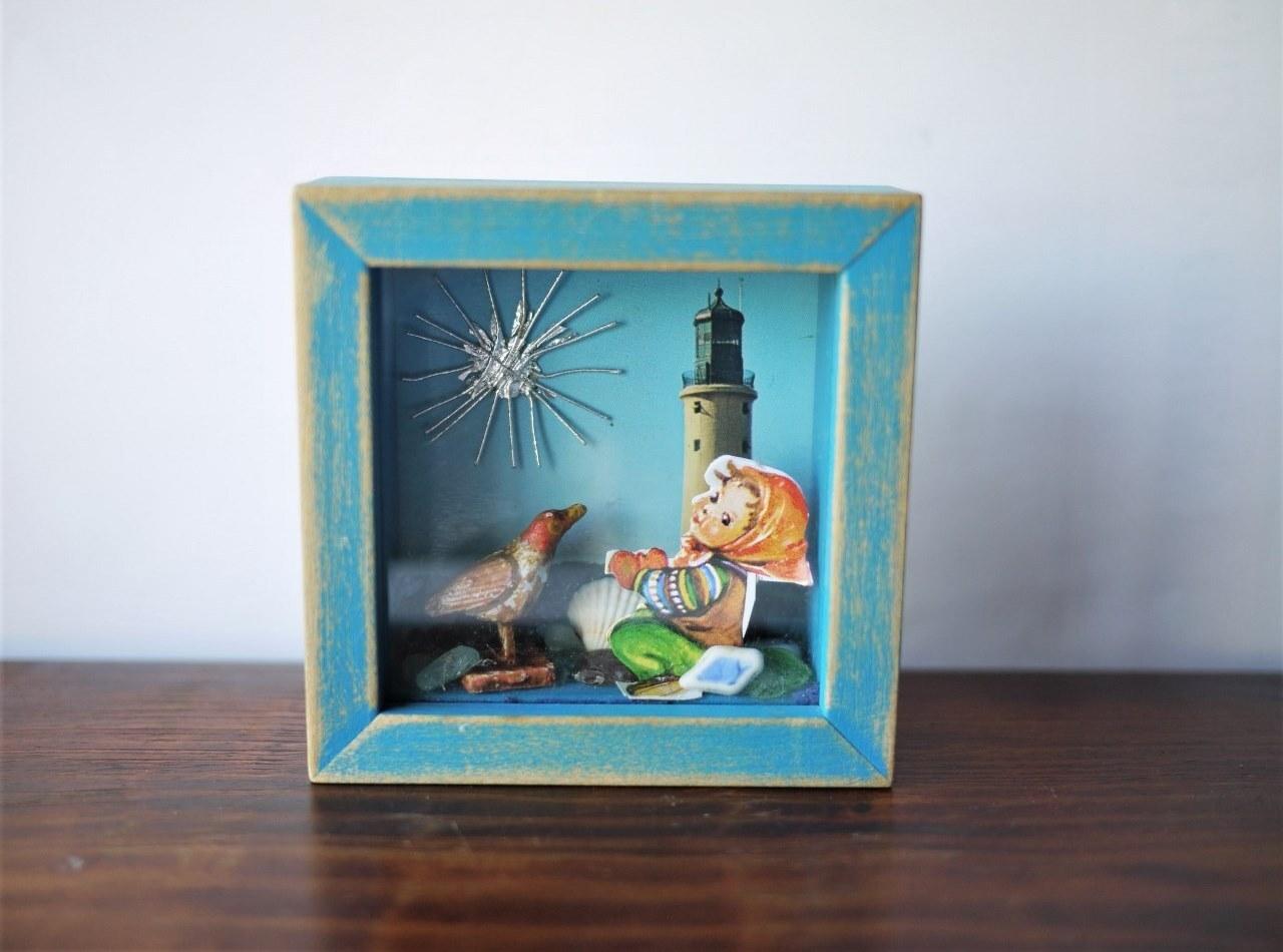 【商談中】クロモスのディスプレイ額 Under the lighthouse