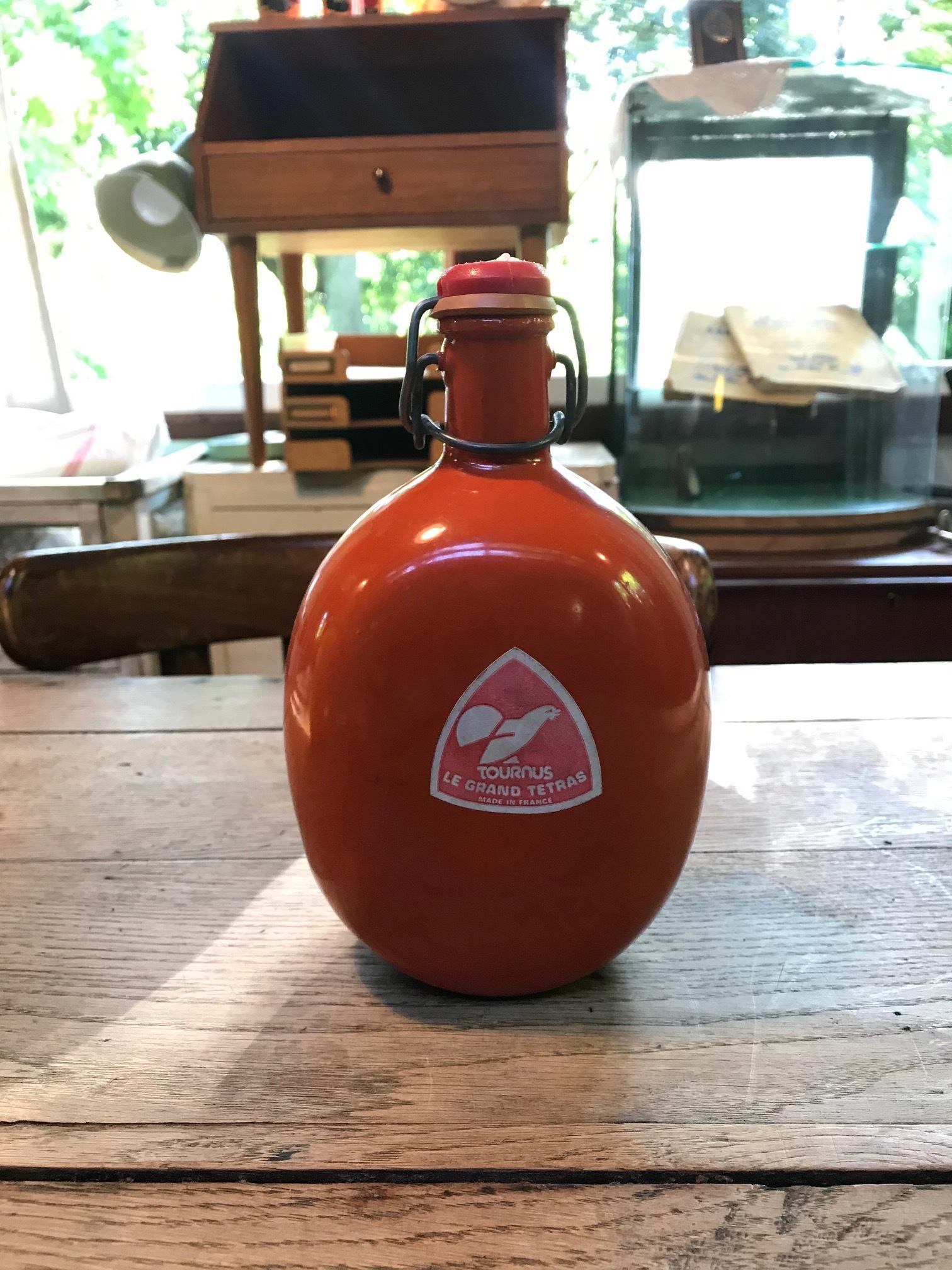 フランス ヴィンテージ LE GRAND TETRAS グランテトラ 水筒 RED