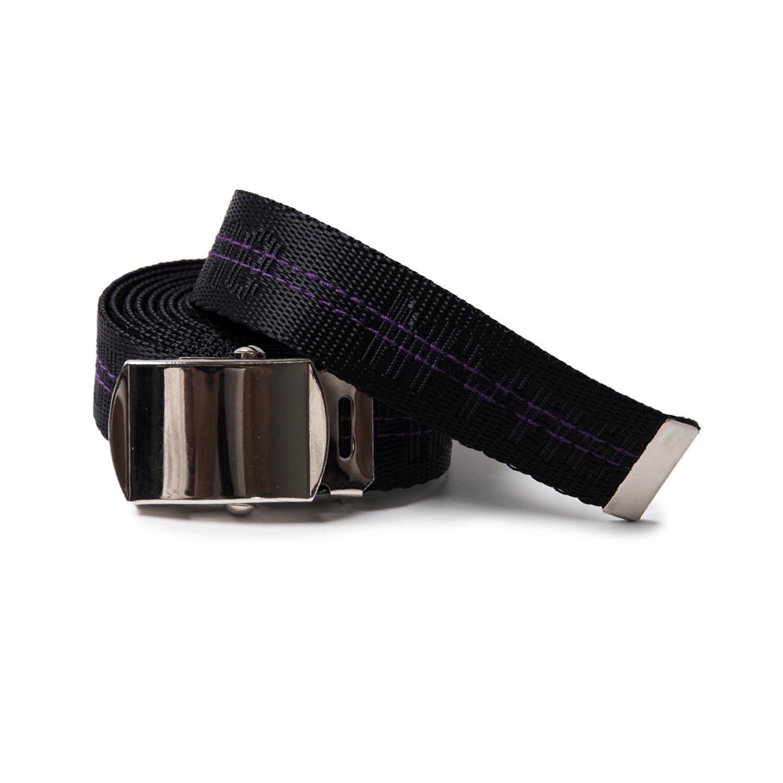MYne jacquard belt / BLACK - 画像1