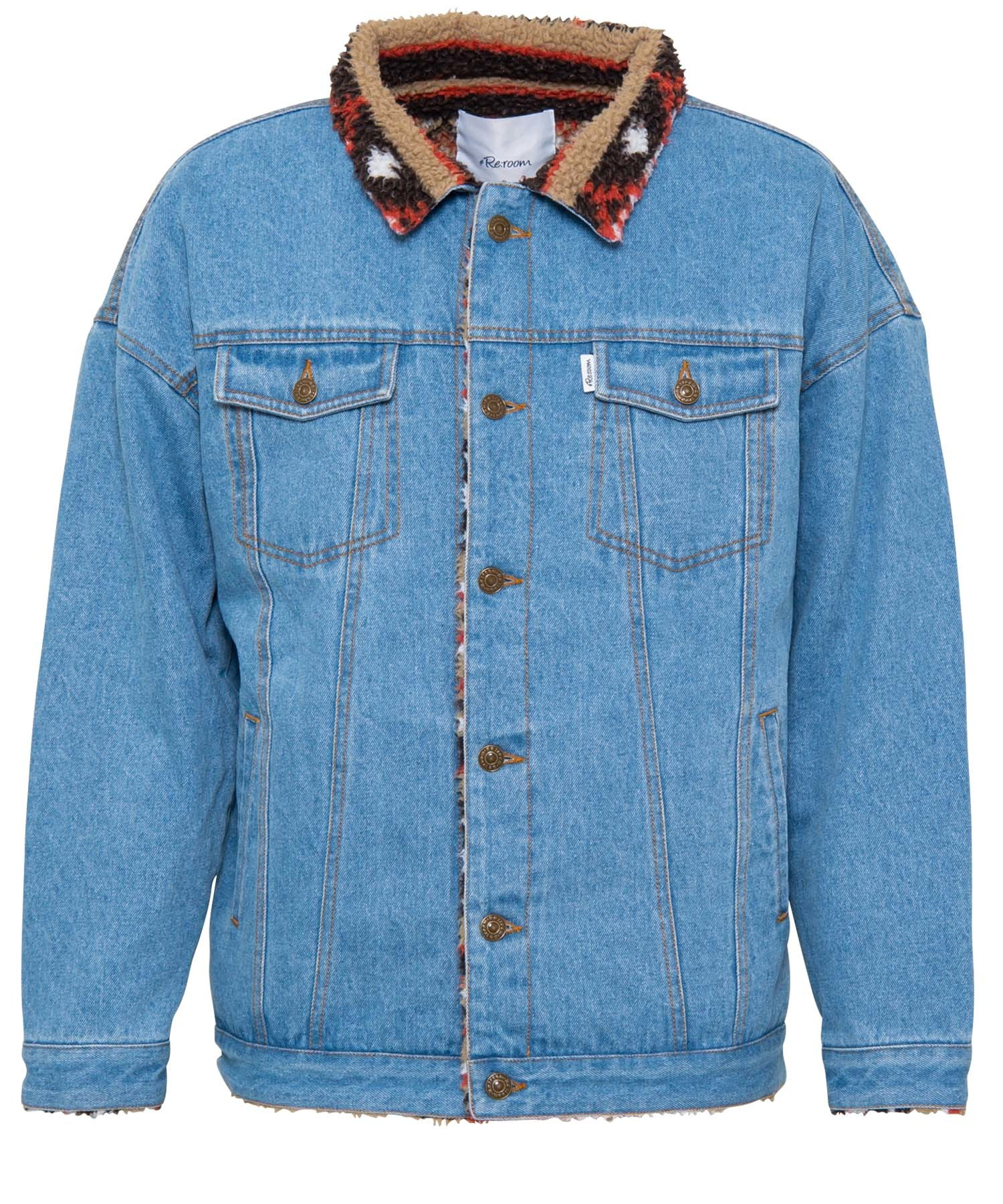 NATIVE BOA DENIM BIG JACKET[REJ043]