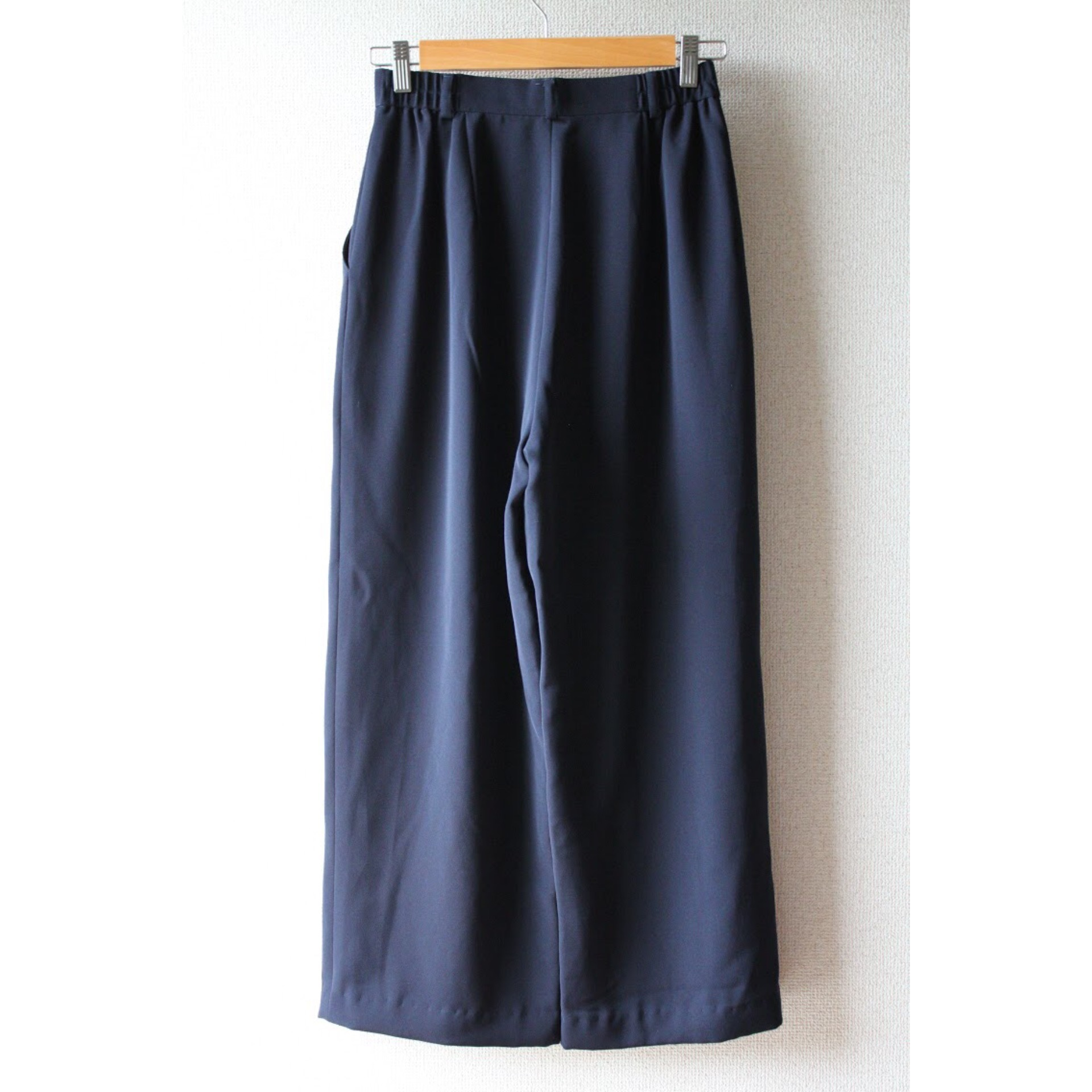 Vintage wide silhouette slacks