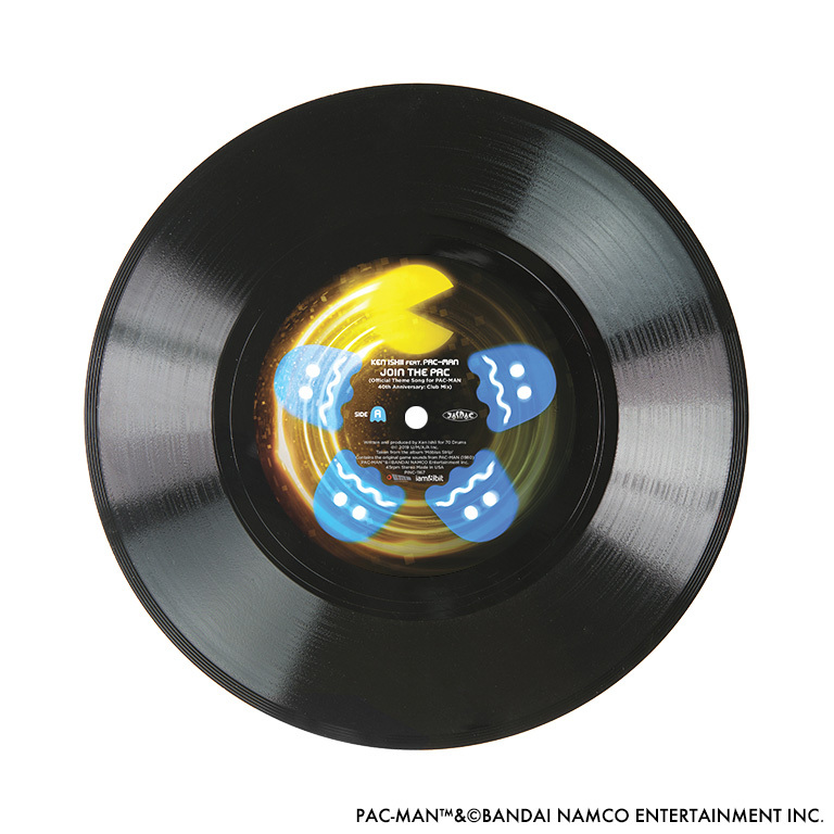 JOIN THE PAC - KEN ISHII feat. PAC-MAN【7inch EP】 - 画像4