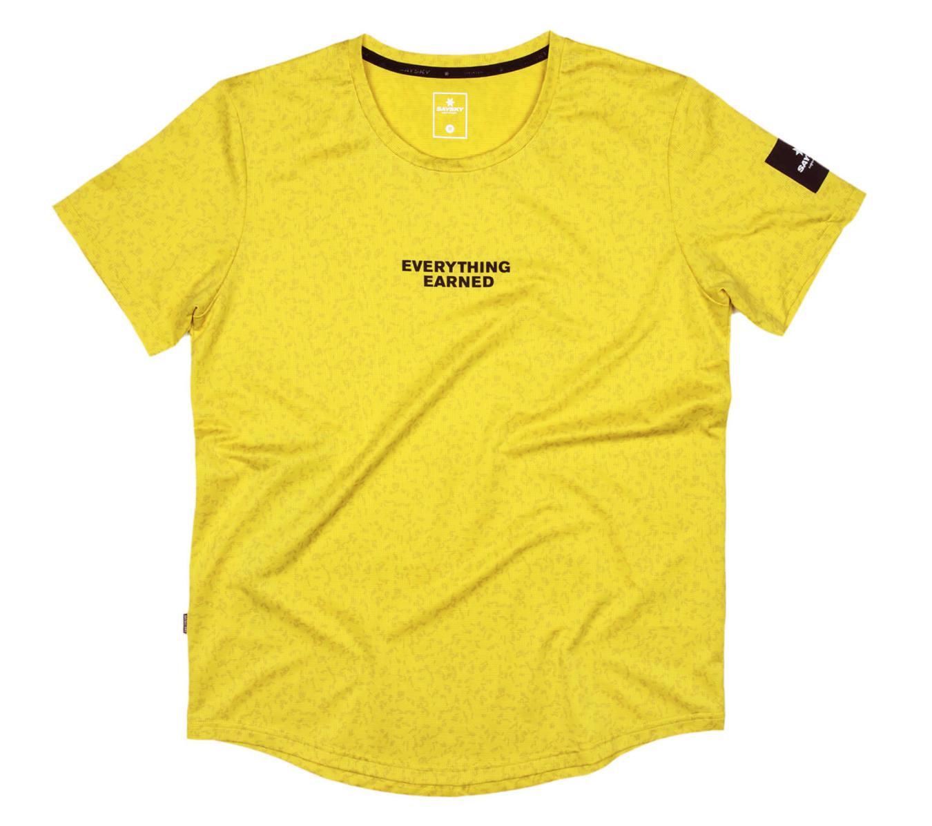 【NEW!】SAYSKY セイスカイ ランニングTシャツ FTP Combat Tee - SULPHUR MICROBES PRINT [ユニセックス] FMRSS14