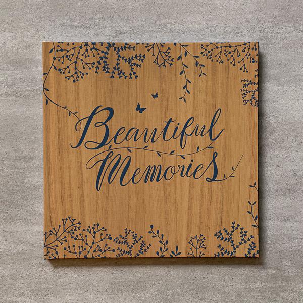 Tree's Board(Light brown)-FAMILY_B5スクエア_10ページ/10カット_フォトブック