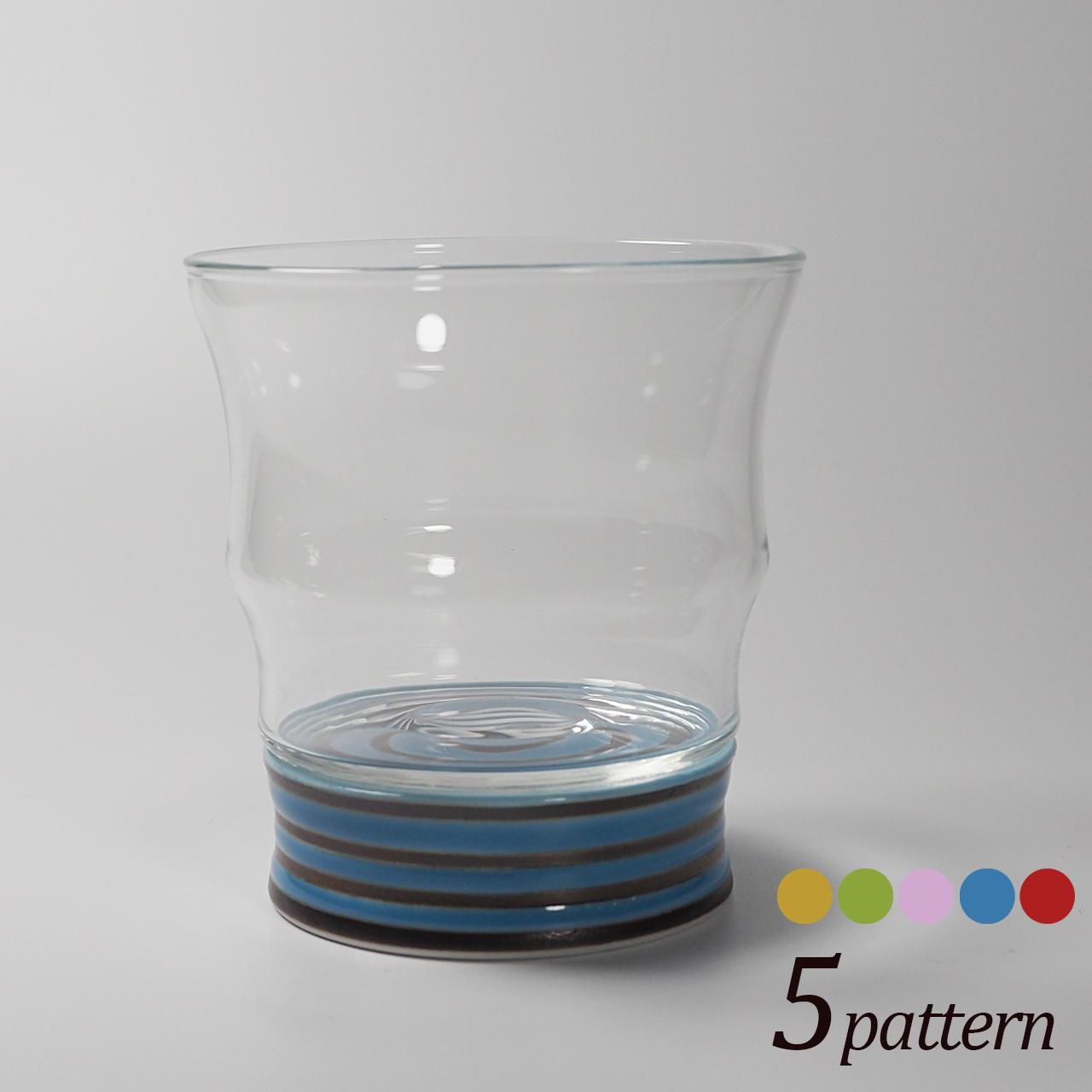 ロックグラス (ボーダー) 20-310