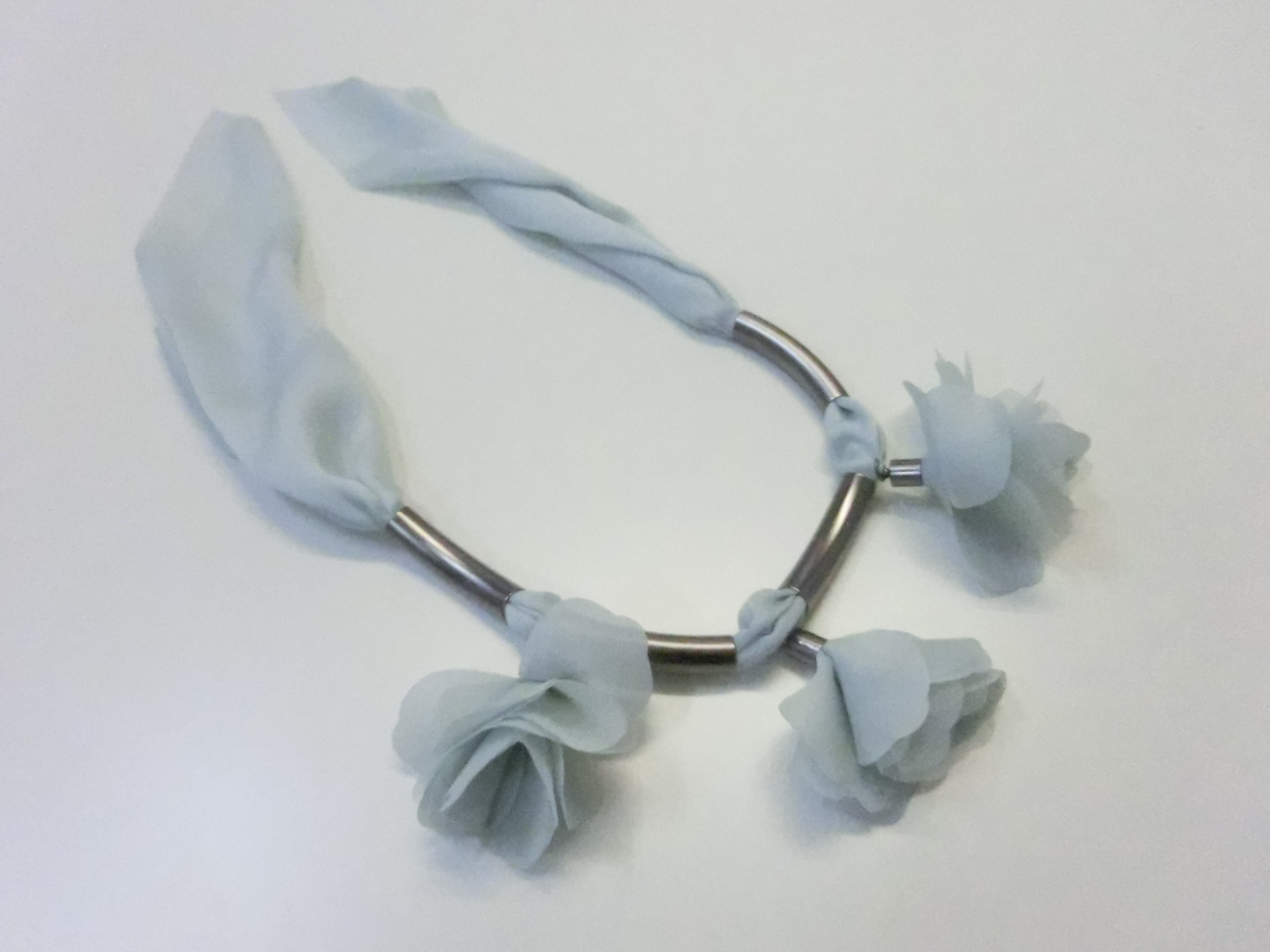 【 UNSEABLE 】Flower chiffon necklace