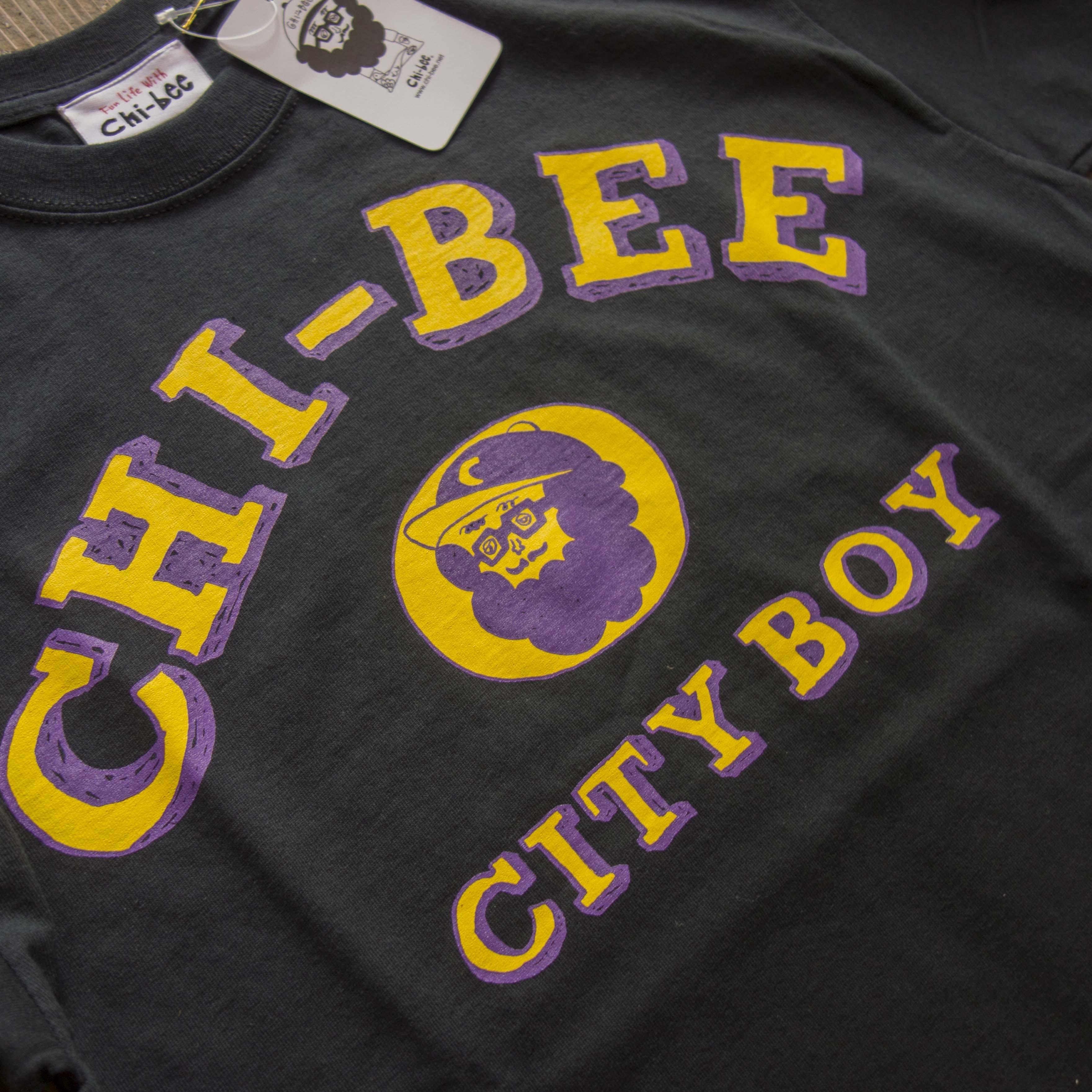 新入荷 Chi-bee College Short Sleeve Blk