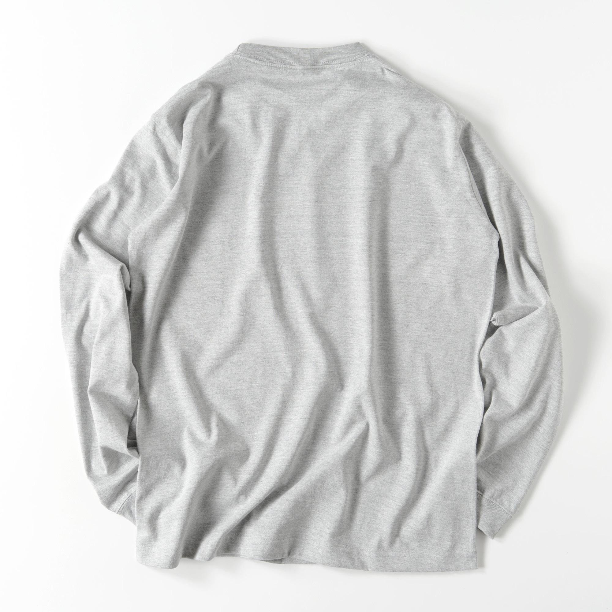 ahahahana_I/GRY/モノトーン【シンプルデザインTシャツ】©mayu_color.888