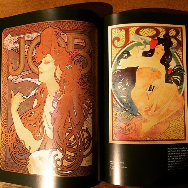アルフォンス・ミュシャ画集「Alphonse Mucha」 - 画像3