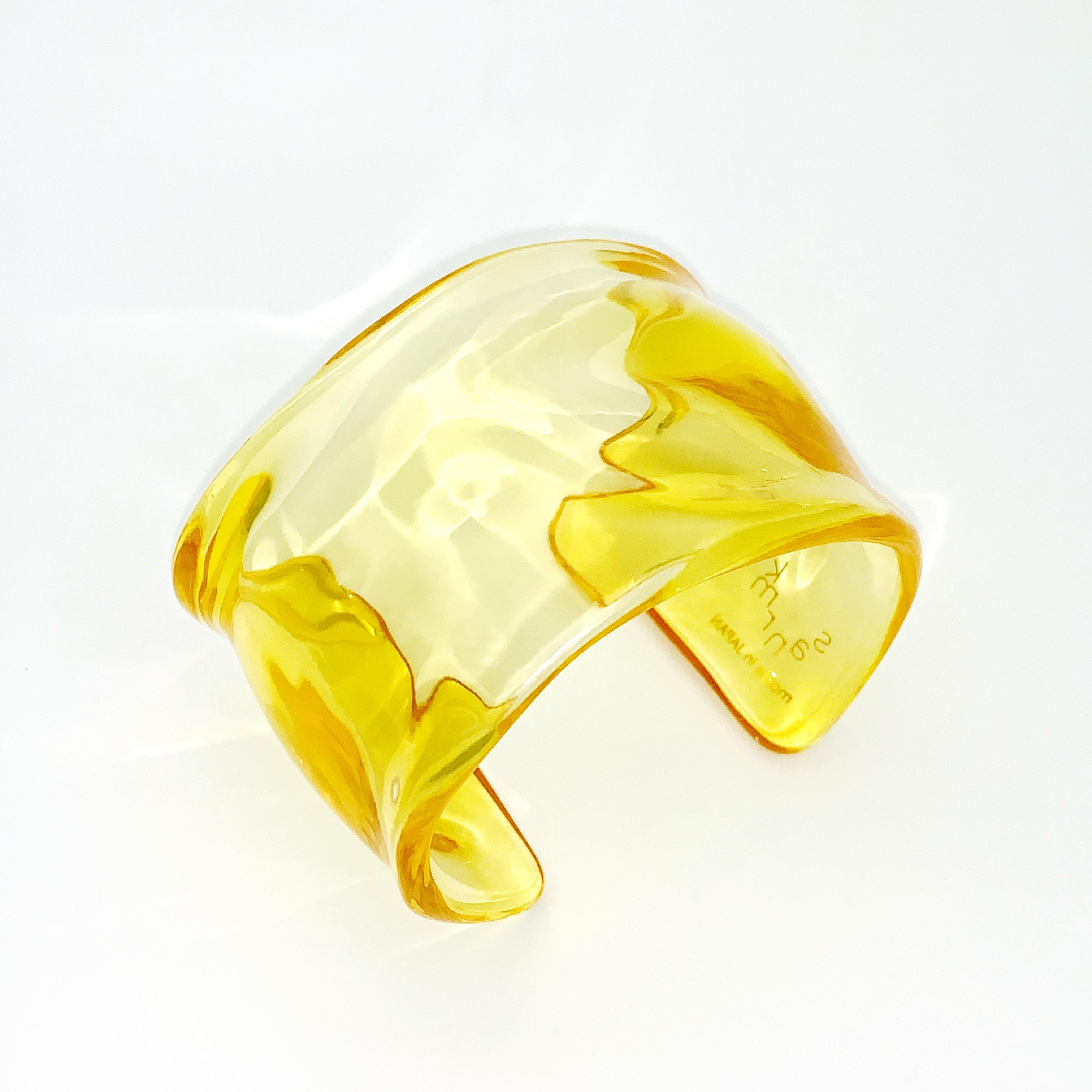 sanrmk Unev BANGLE yellow