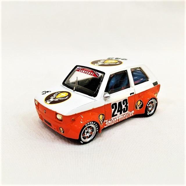 FIAT 126 Jagermeister Gr.5 1/43 【MAD MODEL】【1個のみ】【税込価格】