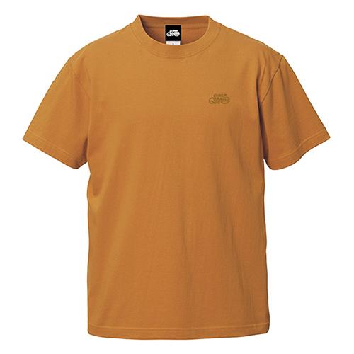 ロゴ刺繍Tシャツ 半袖 / キャメル | SINE METU - シネメトゥ