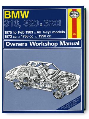 BMW・316・320 & 320i・1975-1983・オーナーズ・ワークショップ・マニュアル