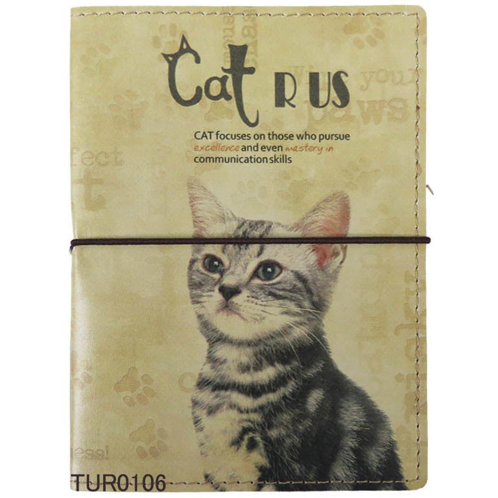 猫ブックカバー(文庫本サイズ)スマート