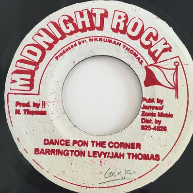 Barrington Levy (バーリントンリヴィ)& Jah Thomas(ジャートーマス) - Dance Pon The Corner 【7'】