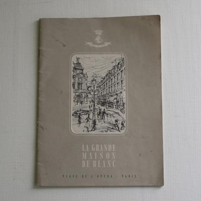 パリの百貨店 La Grande Maison De Blanc カタログ・フランスアンティーク / vp0025