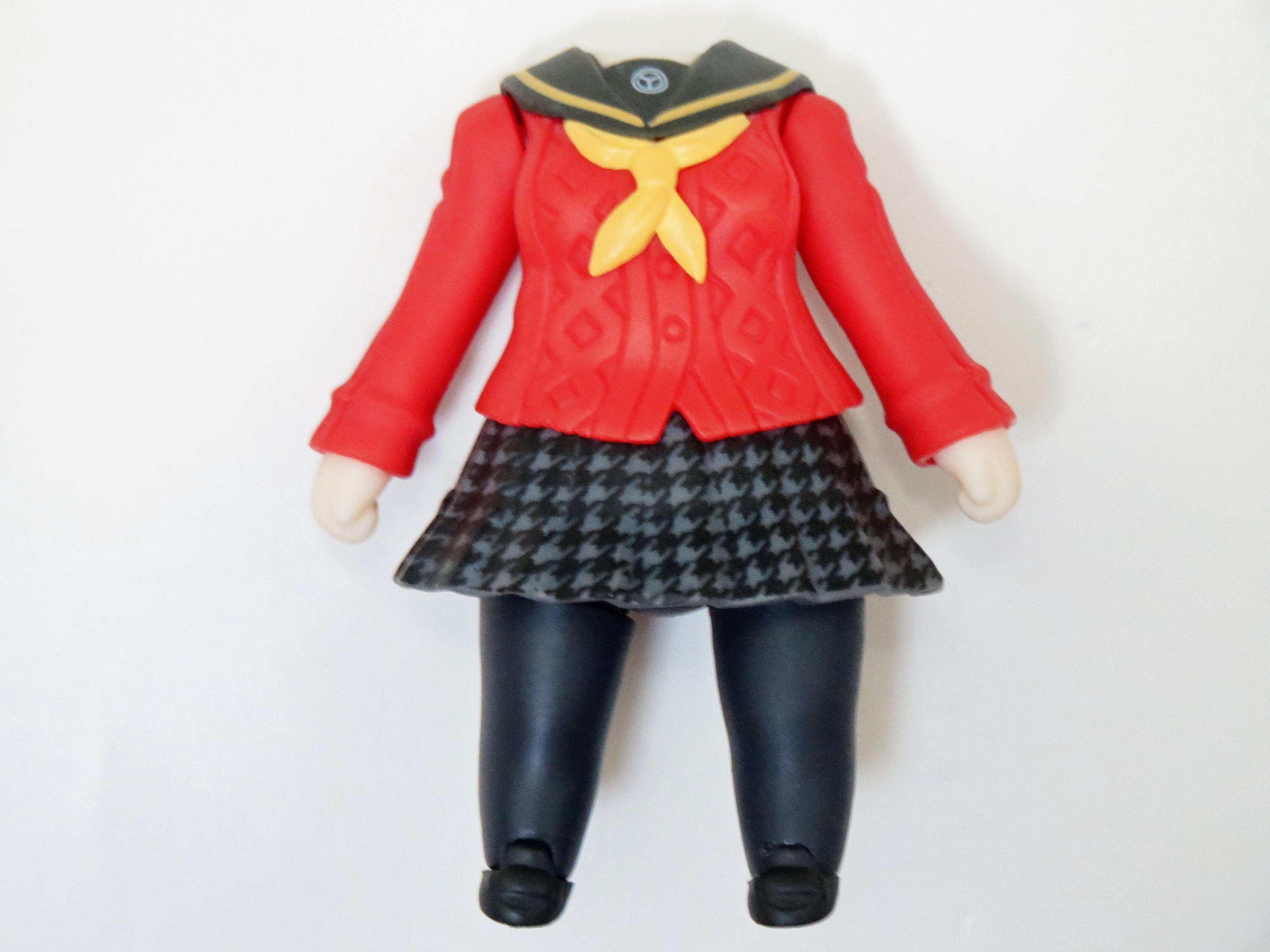 【238】 天城雪子 体パーツ 制服 ねんどろいど