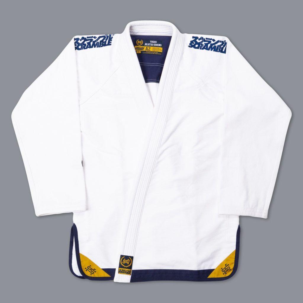 予約注文受付中です! SCRAMBLE YUSHO BJJ GI|ブラジリアン柔術衣