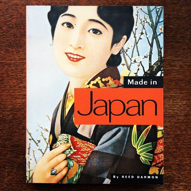 日本のレトロなグラフィックデザインの本「Made in Japan/Reed Darmon」 - 画像1