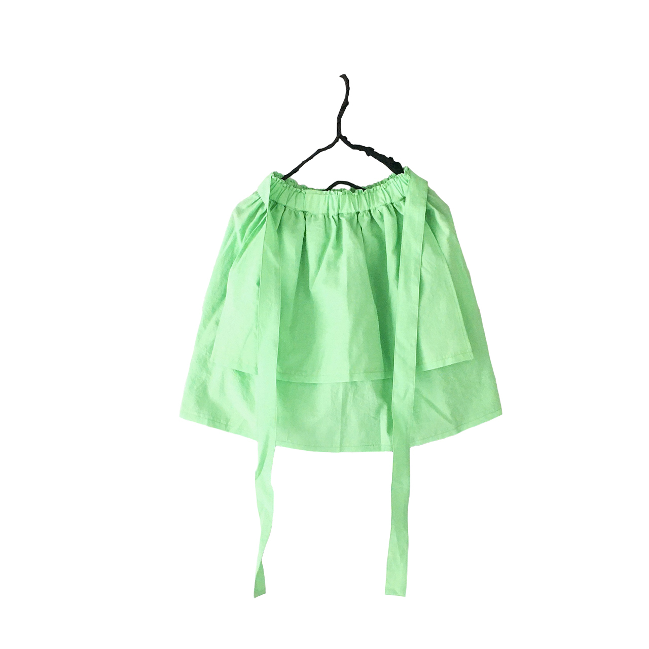 APRON STYLE SKIRT DYED / S - L