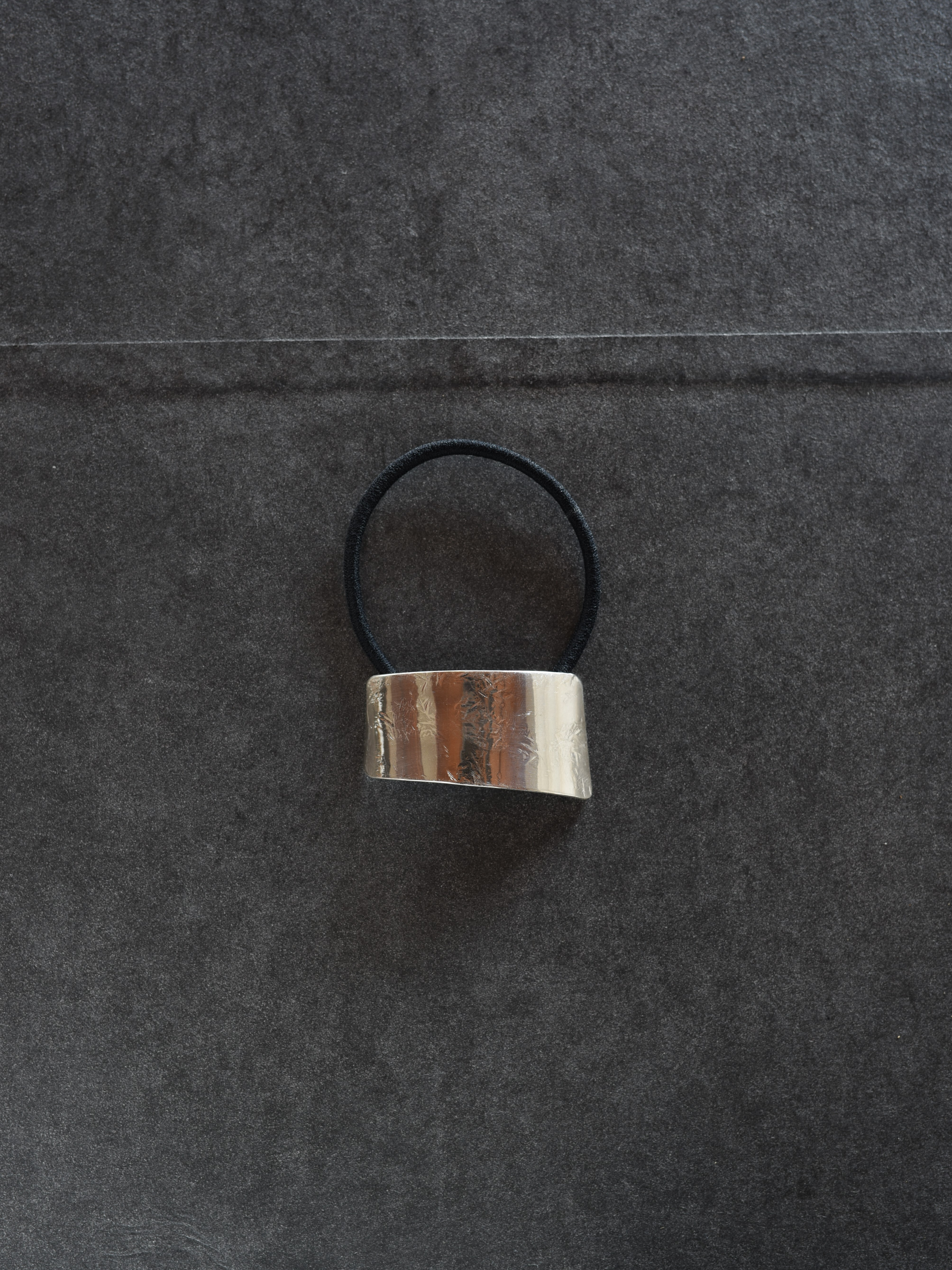 accessories mau|O-01-1  ヘアゴムsilver