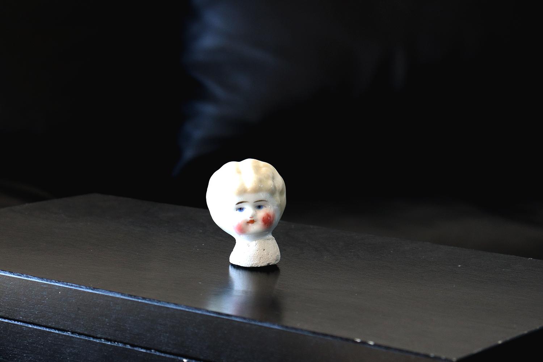【イギリス】人形のパーツ/ブロンドヘア