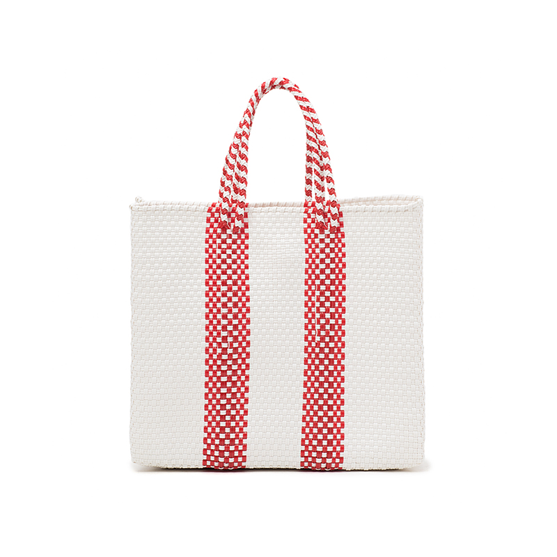 MERCADO BAG 2LINES-Red (S)