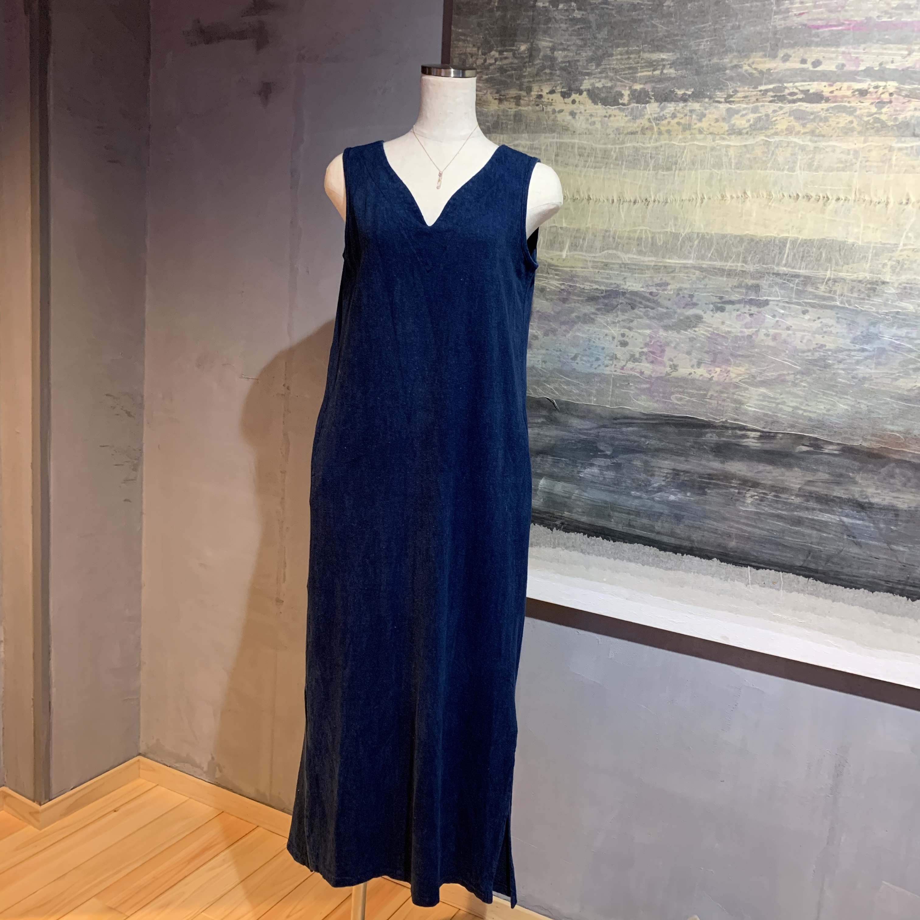 【先行販売価格】∞One Piece Dress∞ Hemp/Cotton/Linen Jersey