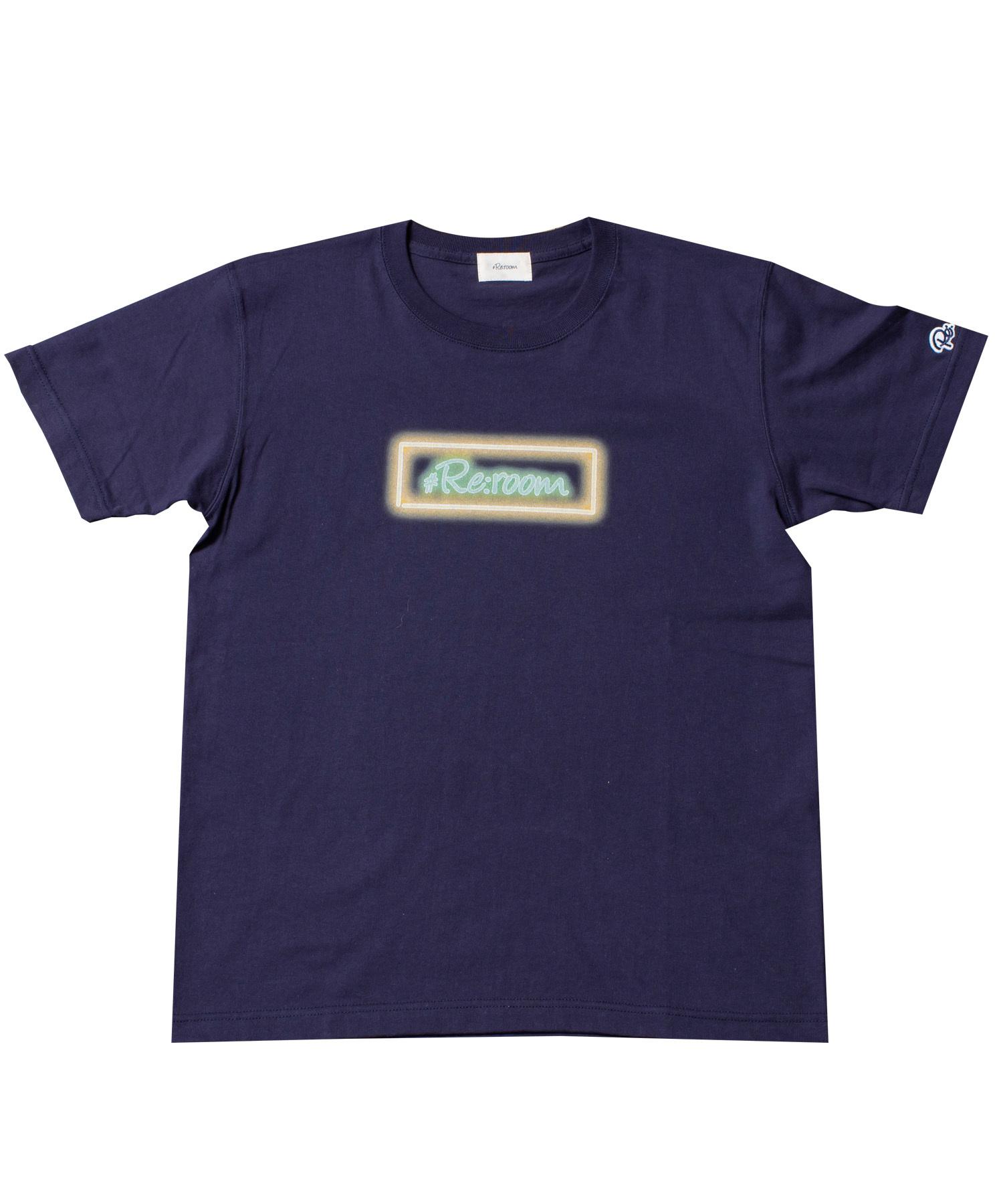 NEON BOX LOGO PRINT T-shirt[REC189]