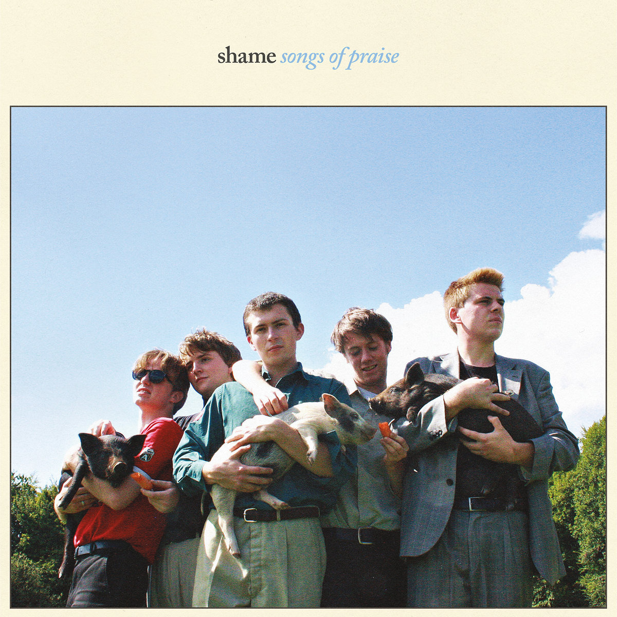 shame / Songs of Praise(Ltd Edition Sky Blue Vinyl)