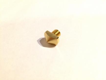MagnaRectaホットエンド用ノズル 0.8mm - 画像1