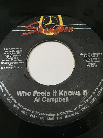 Al Campbell(アルキャンベル) - Who Feels It Knows It【7'】