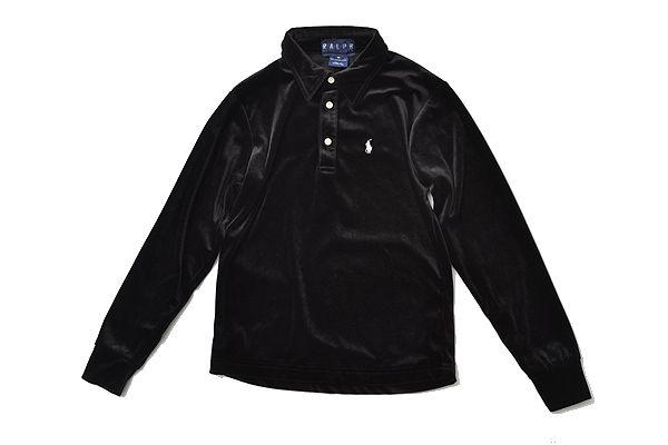 Ralph lauren sizeM beloa long shirts/black
