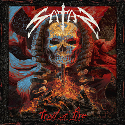 "SATAN ""Trail Of Fire – Live In North America"""