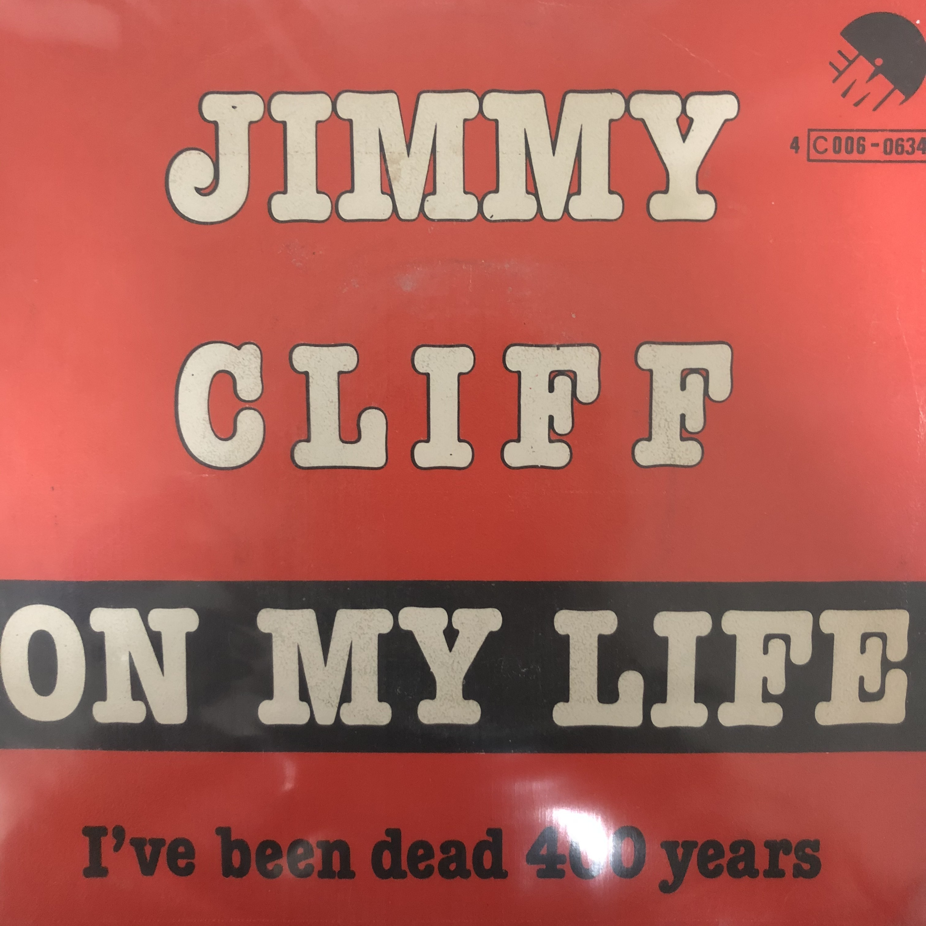 Jimmy Cliff - On My Life【7-20487】