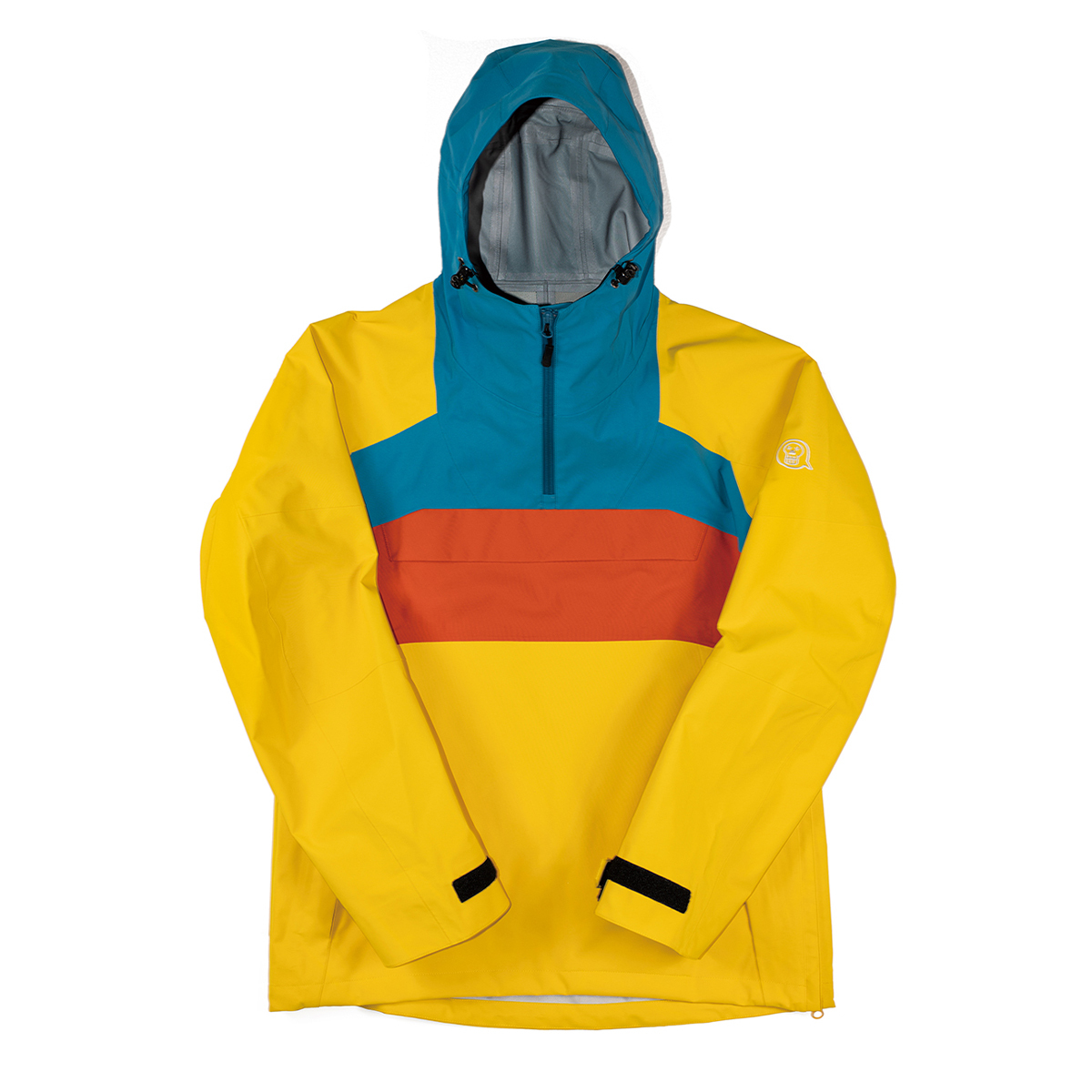 unfudge snow wear // SMOKE ANORAK // YELLOW // 1920SAY