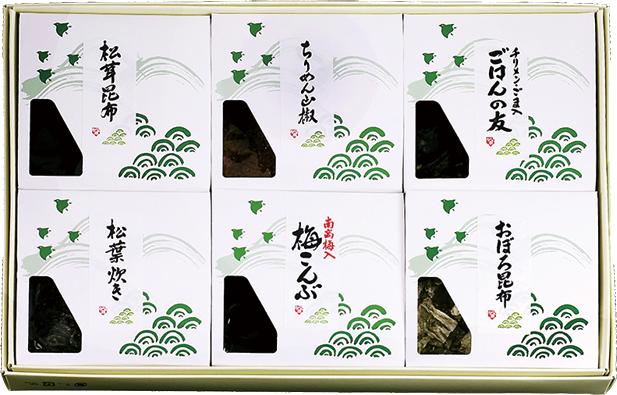 KA-29 松茸佃煮詰合せ(6品) - 画像1