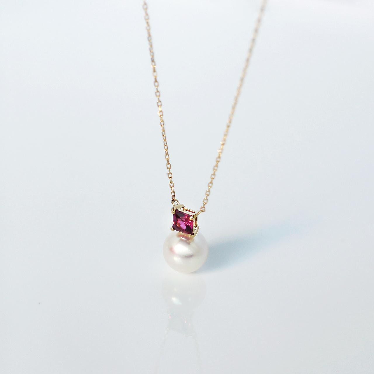 ELEMENTS / Necklace (Rhodolite Garnet)