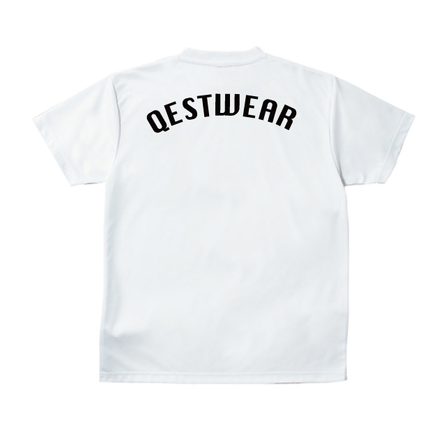 Qest Crown Practice Shirt / White - 画像5