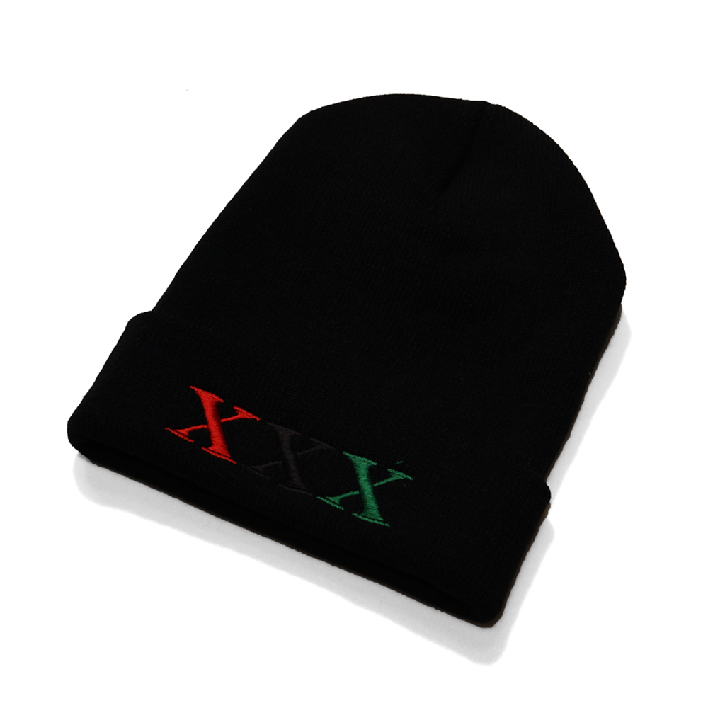 Stay Black Salute XXX BEANIE CAP (BLACK)