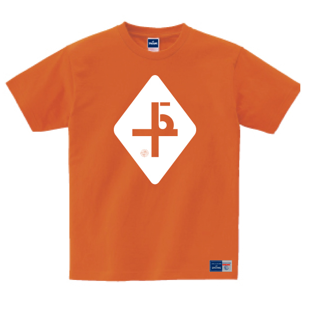 bactopec x SPALDING Original Tee (Orange)