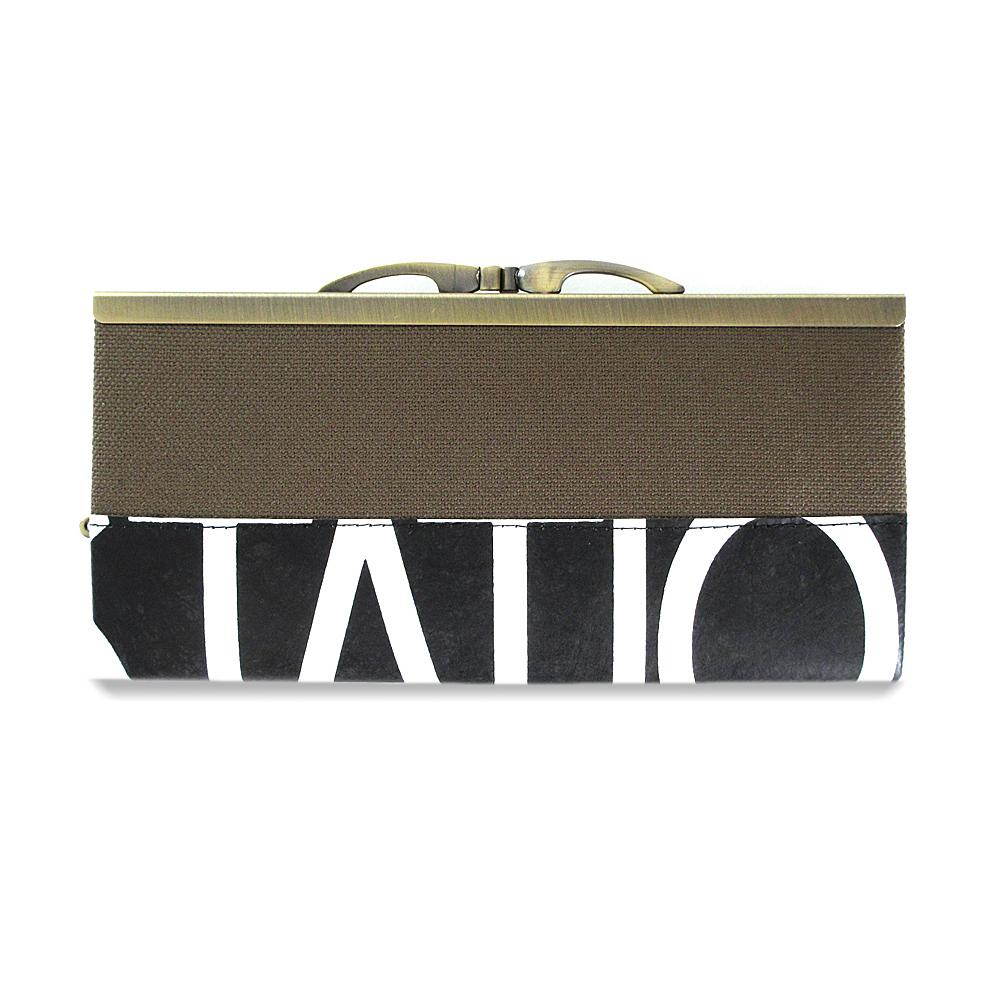 Frame Purse Long Wallet / GWA-0023