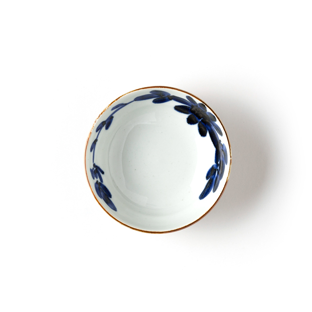 Hasamiyaki IROHA Kikumon / Mid-bowl