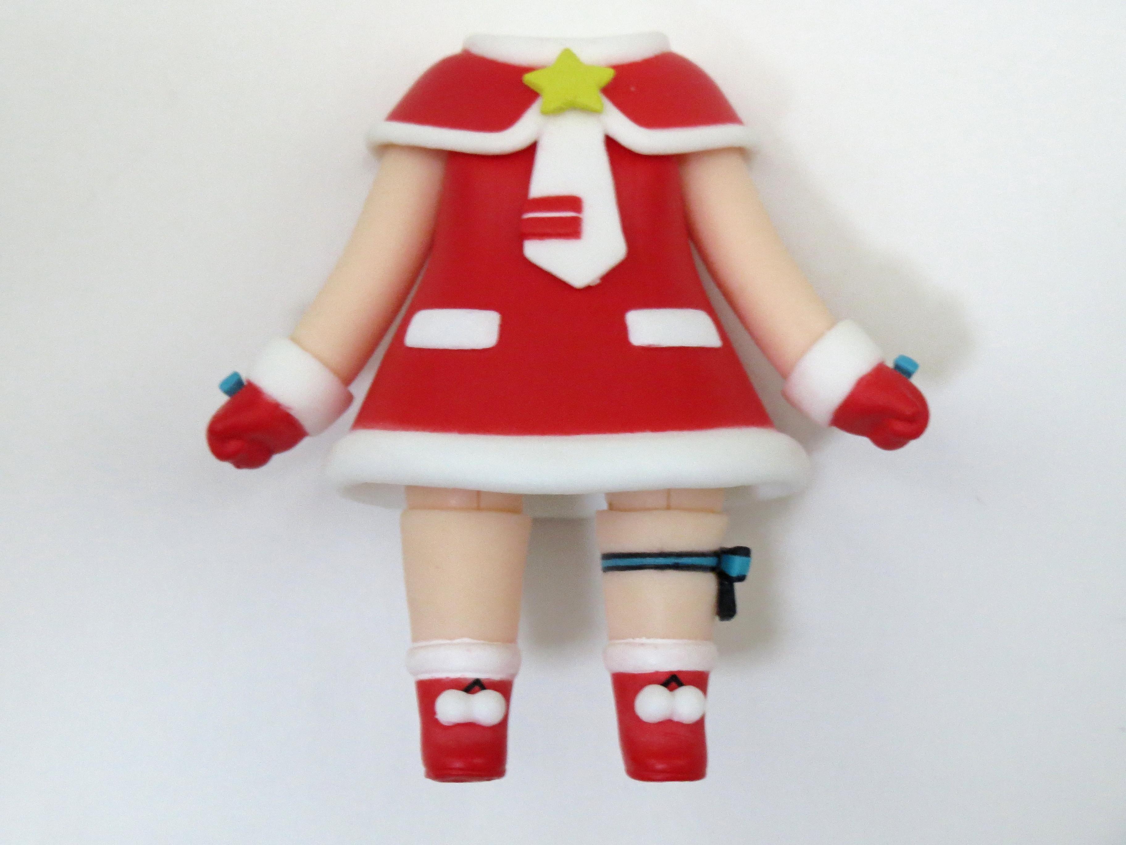 再入荷【280】 初音ミク サンタVer. 体パーツ サンタ服 ねんどろいど