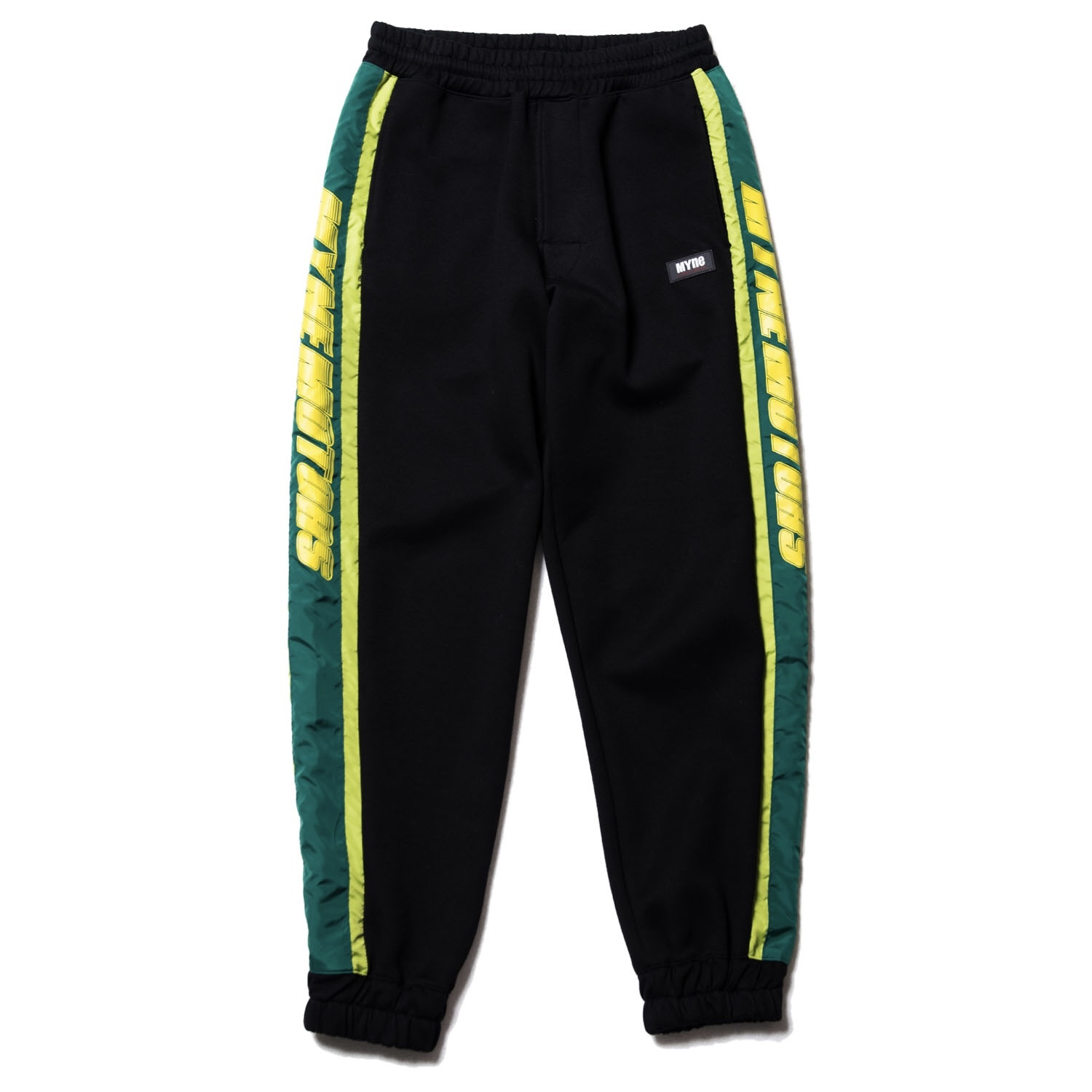MYNE MOTORS track pants / BLACK - 画像1